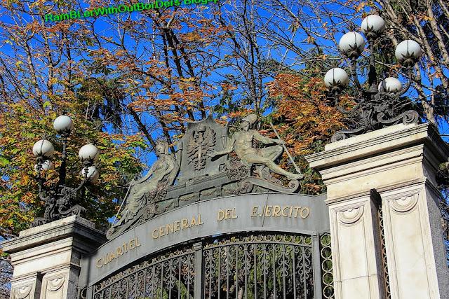 Buenavista Palace, Calle de Alcala, Madrid, Spain