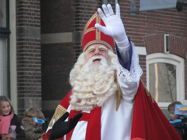 Boas vindas ao Sinterklass em Amsterdã