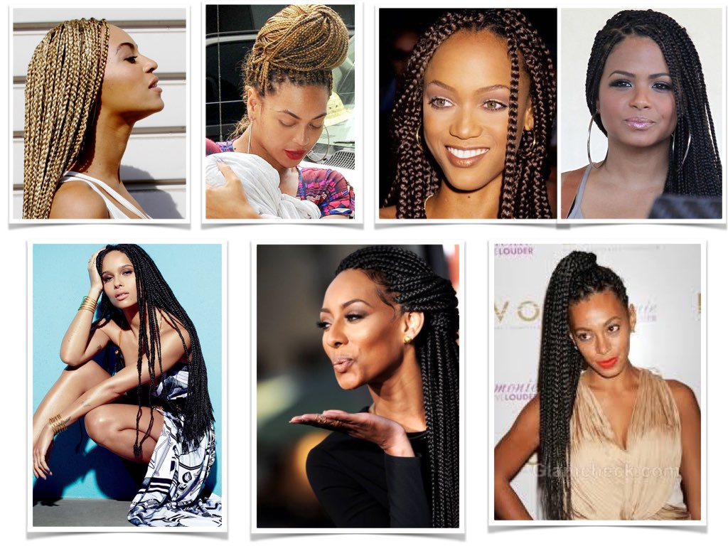 Sidi Beauty Blog De Belleza Box Braids O Trenzas La Biblia