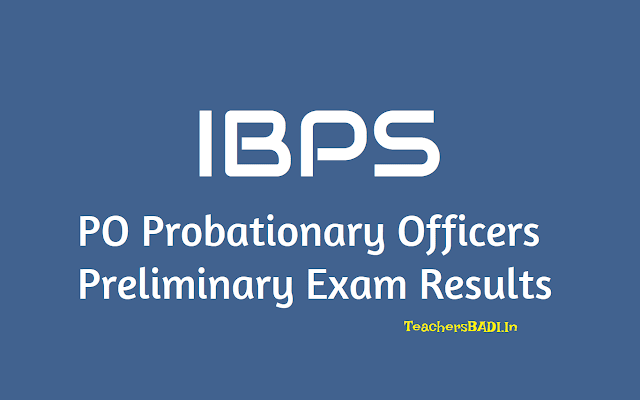 ibps pos result 2019 of preliminary exam,mains exam on november 18,ibps probationary officers prelims results,ibps pos prelims results,ibps preliminary exam result 2019