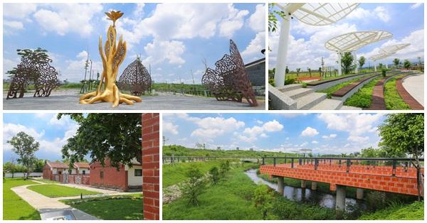 台中南屯|高鐵新市鎮生態公園|龍富生態公園|百年古蹟瑞成堂|大梵棧橋|大梵廣場