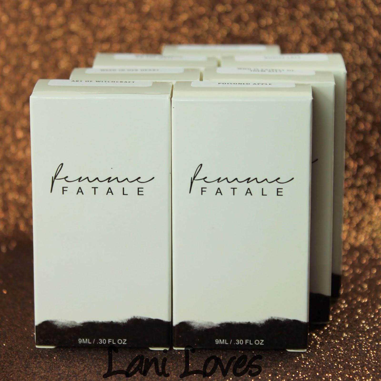 Femme Fatale Cosmetics April Presale Nail Polish Swatches & Review