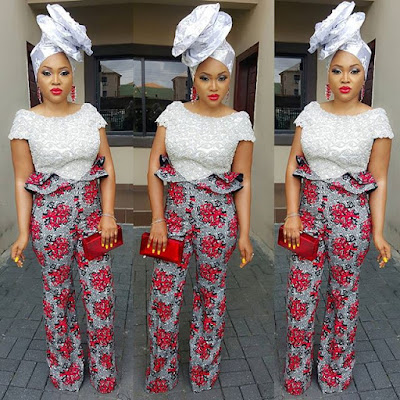 Mercy Aigbe now feature on owambe photos