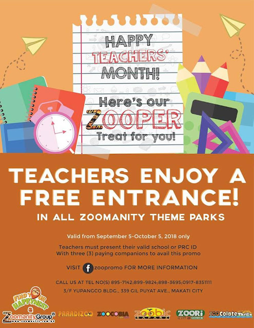Zoomanity Group's Promo for Teacher's Month