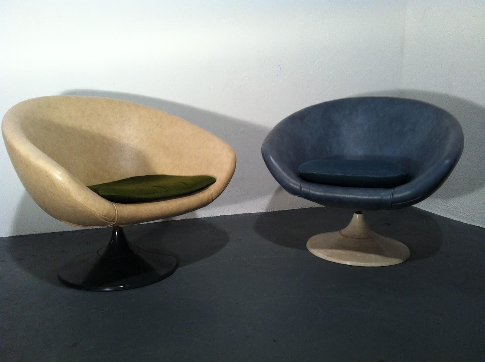 Scandinavian Pod Chairs 1970s By Overman