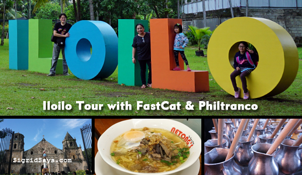 FastCat RORO - Philtranco - Iloilo tour