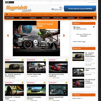 Blogger Tube V4 blogger template for video blogger template. blogger template for video blog. blog template for video blog