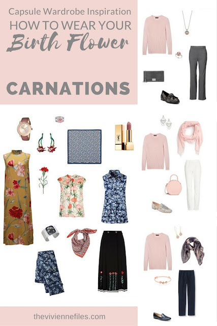 """Carnations! The """"Birth Flower"""" for January..."""