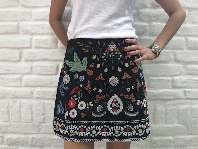 Zaful Embroidered Skirt Seize your Style 3