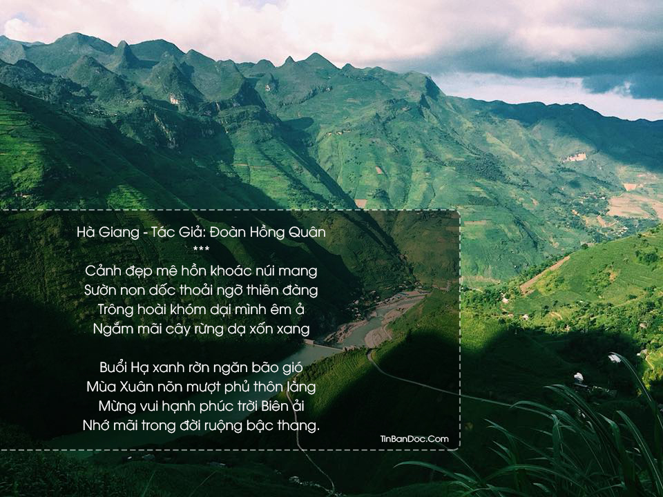 Những Bài Thơ Hay Nhất Về Hà Giang, Cảnh Đẹp, Hữu Tình & Nên Thơ