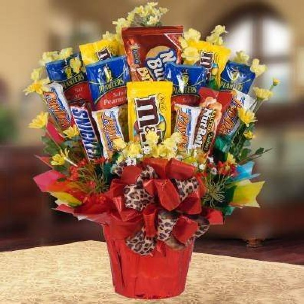 Happiness Delivered {Life.Love.Inspire.}: Sweet Bouquet of Candies ...