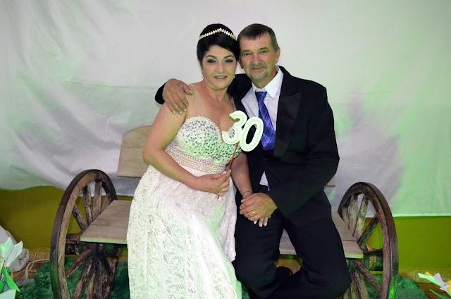 Joaquim e Lili de Fátima Salkovski
