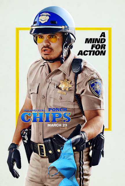 CHIPS Poster - Michael Pena Solo