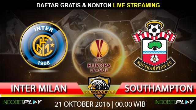 Prediksi Inter Milan vs Southampton 21 Oktober 2016 (Liga Eropa)
