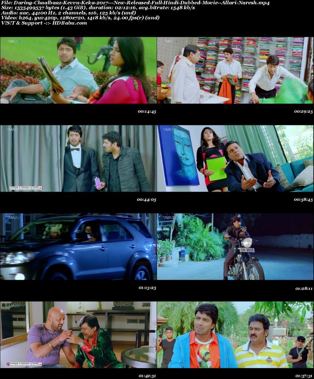 Daring Chalbaaz Hindi Dubbed Full Movie Download