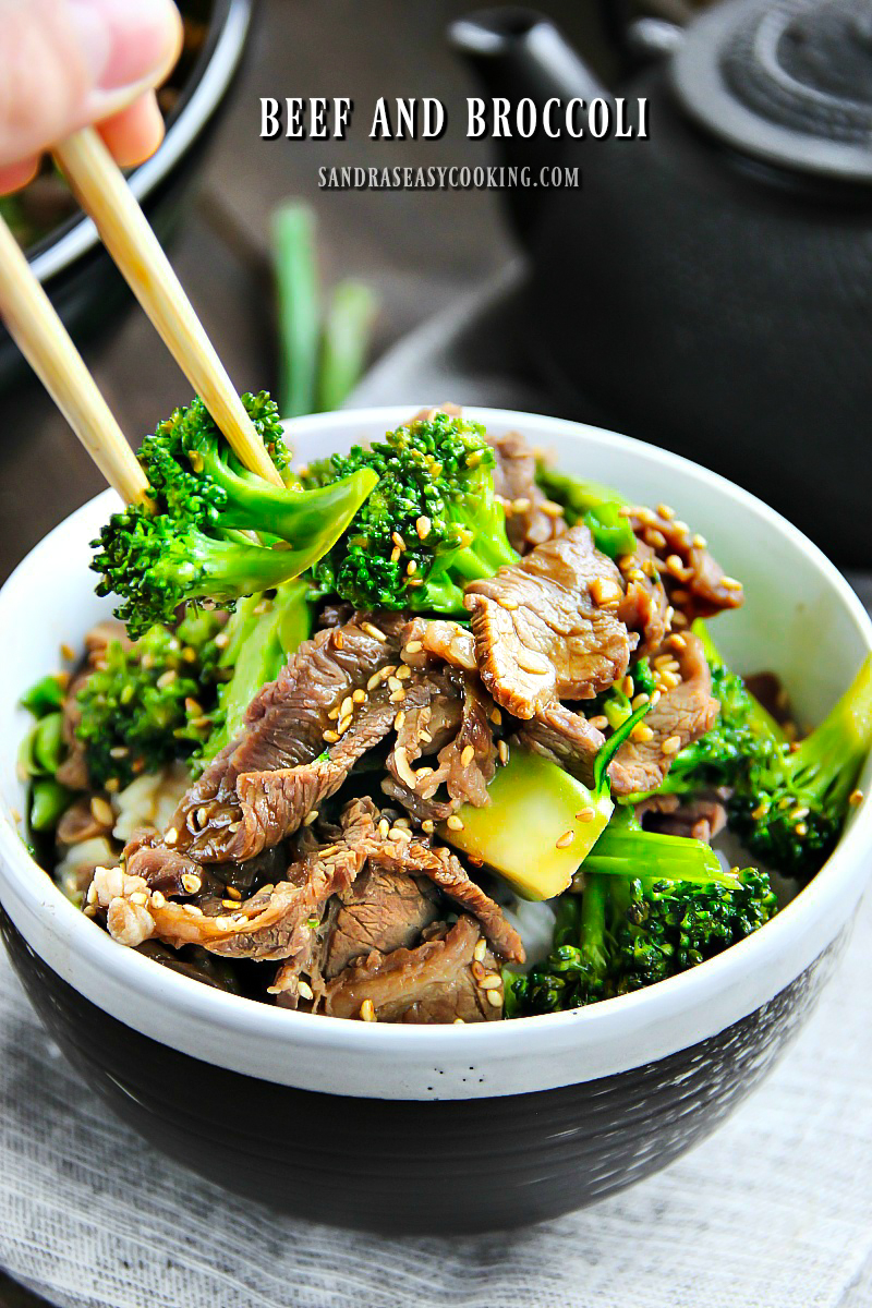 Valentine's Day Dinner Ideas - Easy Beef and Broccoli Recipe