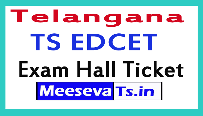TS EDCET Admit Card 2017 Download Telangana EDCET Hall Ticket