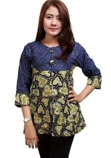 Model Batik Dress Anak Muda Jaman Sekarang