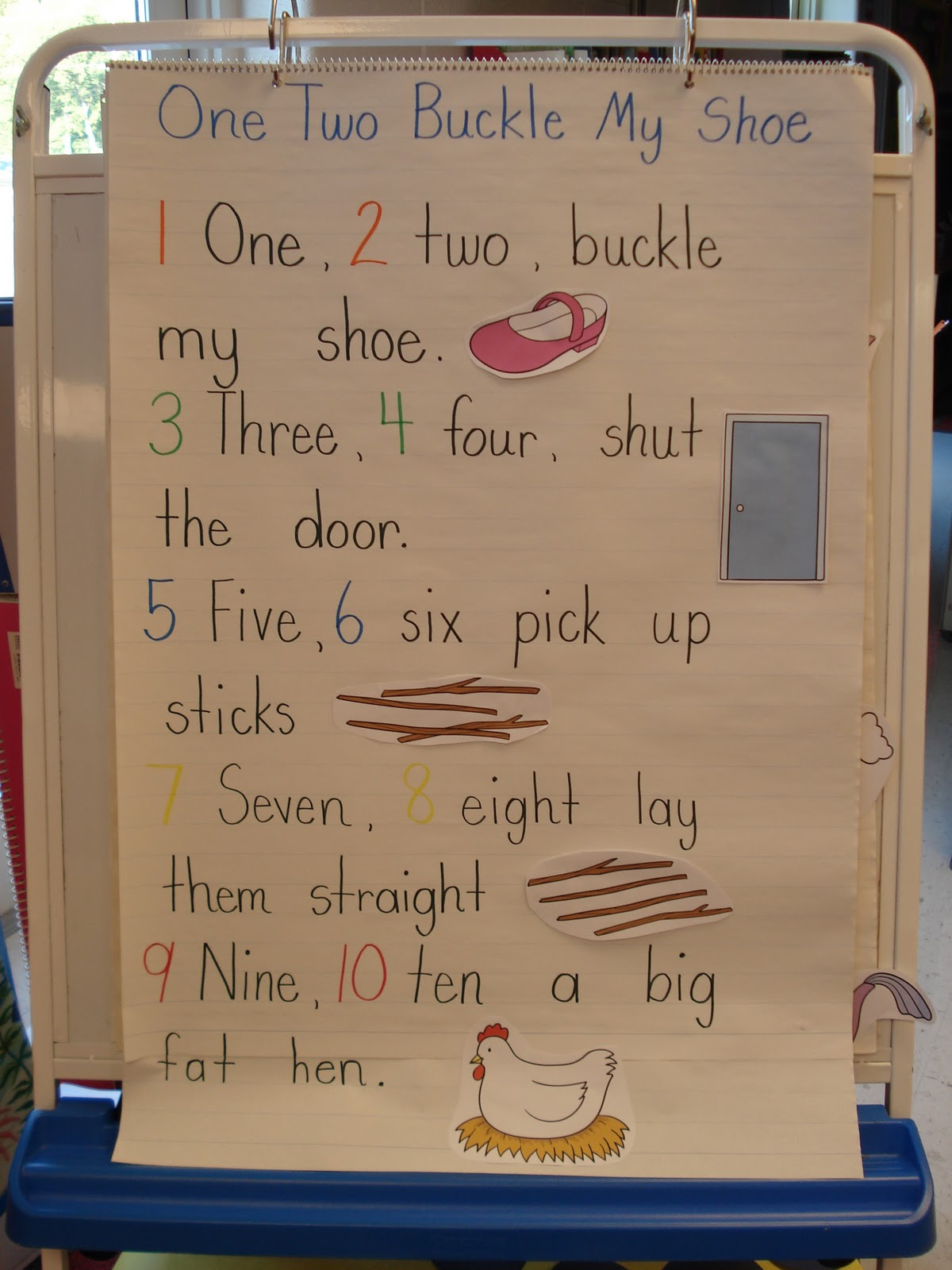 Winters Kinderland Pattern Math Stations And Nursery Rhymes