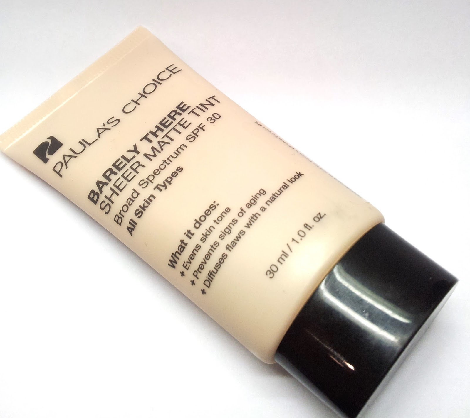 Paula's Choice: Barely there sheer matte tint SPF 30 FAIR