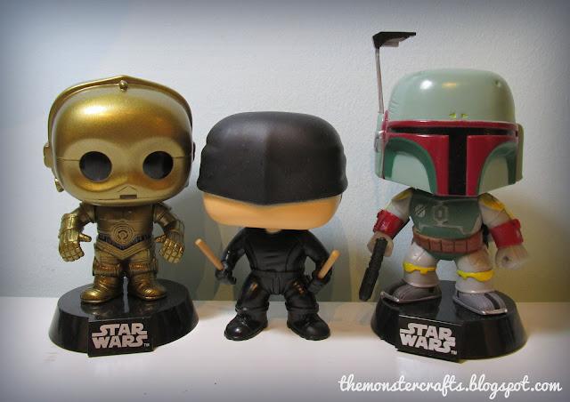 Funko Pop C-3PO Daredevil Bobba Fett