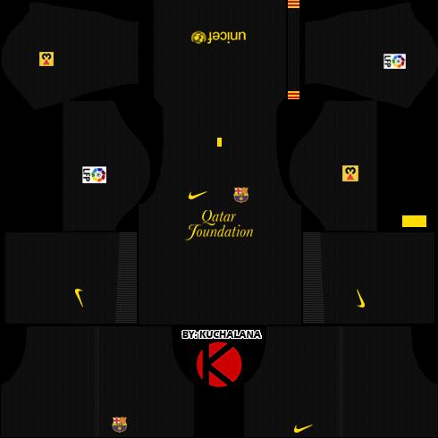 info for 59afe 2409c Barcelona Kits 2011/2012 - Dream League Soccer Kits - Kuchalana