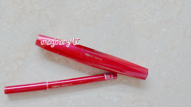 review dejavu fiber wig mascara eyeliner