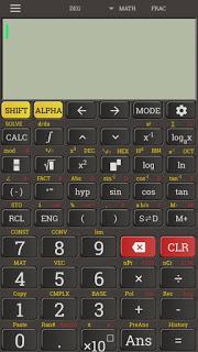 آلة حاسبة Casio fx 991 للاندوريد، أفضل آلة حاسبة عملية متطورة حديثة Casio fx 991، آلة حاسبة عملية مدفوعة للموبايل الاندوريد مجانا