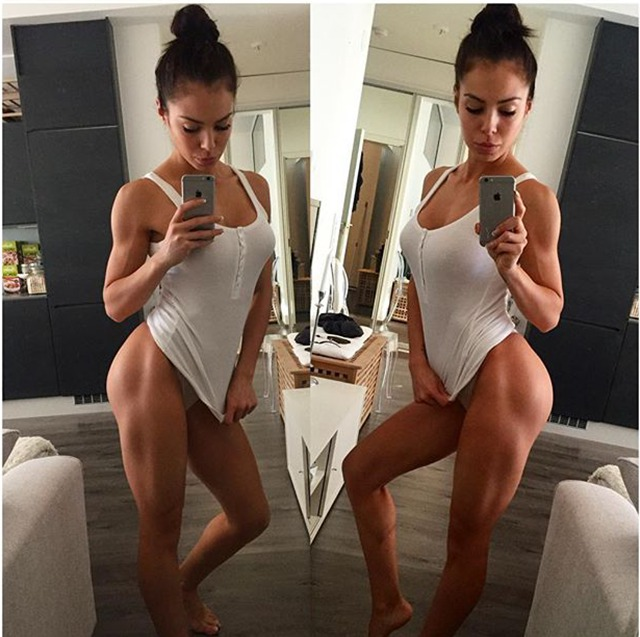 Fitness Model Sofia Jessica Instagram photos