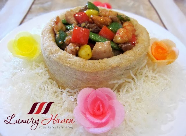 pretty chinese new year yam ring recipe