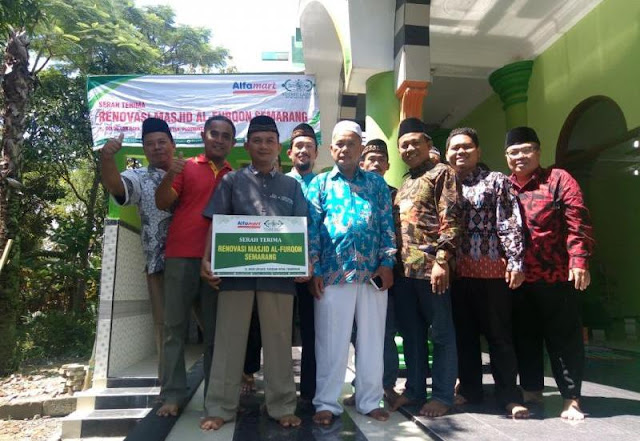 Setelah Aceh, LAZISNU Bantu Renovasi Masjid Semarang