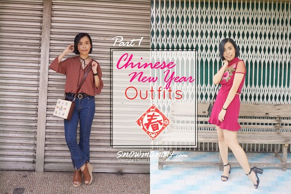 Chinese New Year Outfit Part 1 - Versatile and Jeans for CNY? WHY NOT!?