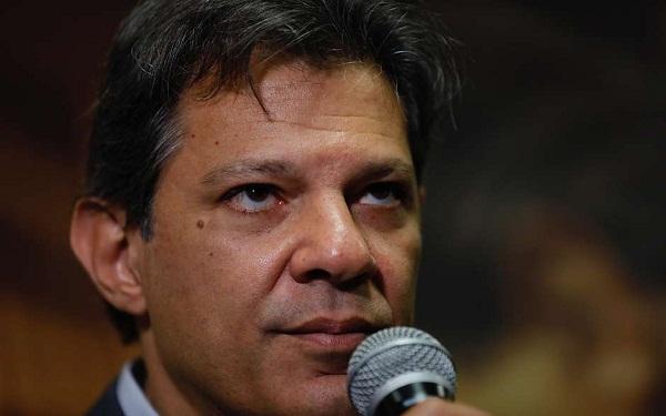 Candidato do PT à Presidência da República, Fernando Haddad (Foto: Marcelo Chello/Estadão Conteúdo)