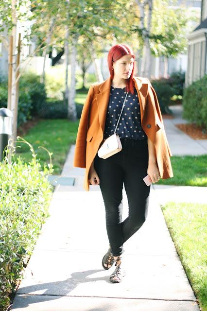 Autumnal ootd inspiration, tan blazer, skinny jeans