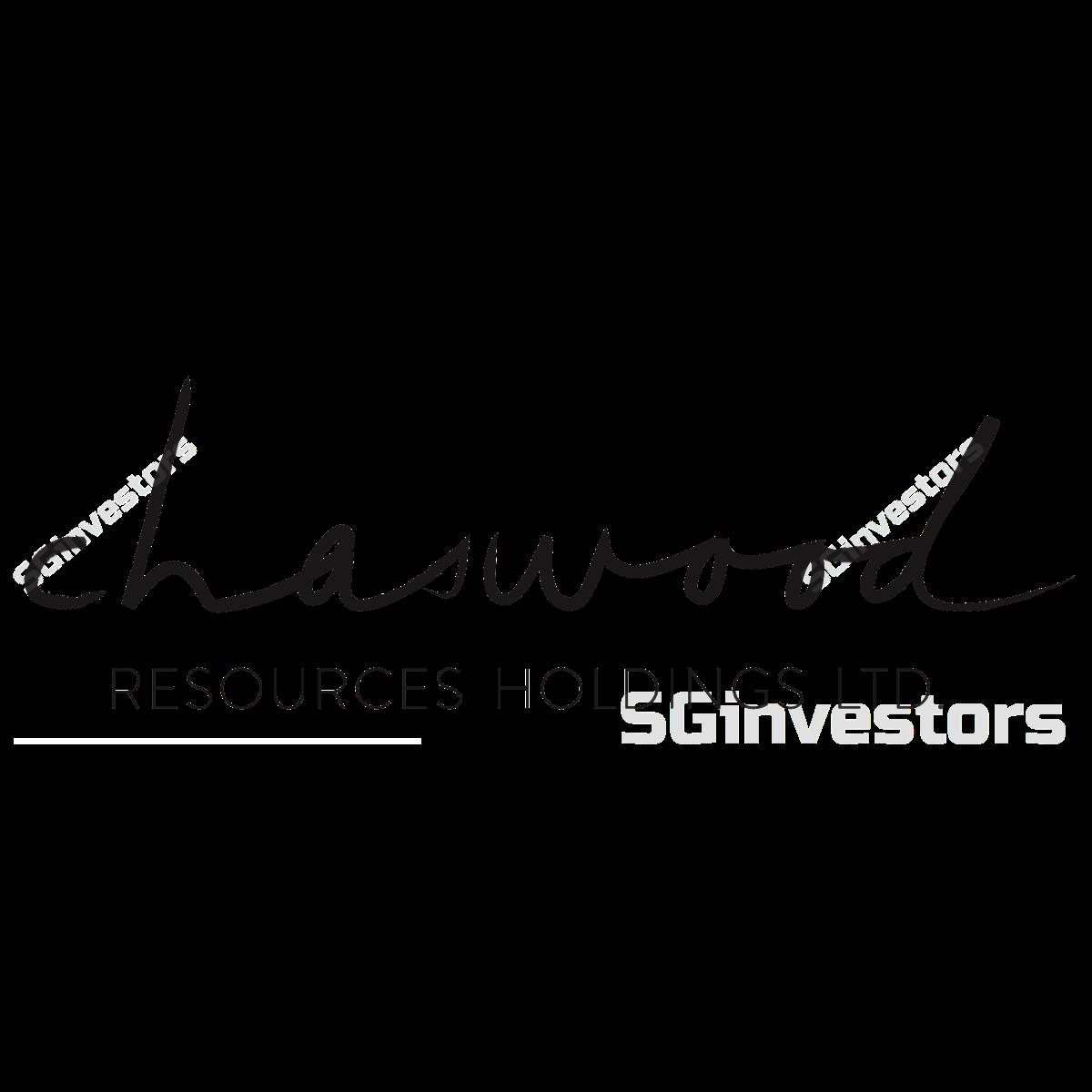 CHASWOOD RESOURCES HLDGS LTD. (SGX:5TW) @ SGinvestors.io