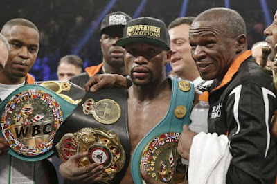 Floyd Mayweather may be stripped of his WBO Title belt
