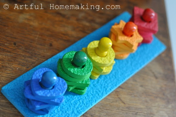 Fine Motor Coordination: Keeping Little Ones Hands Busy. Lauri shapes and colors