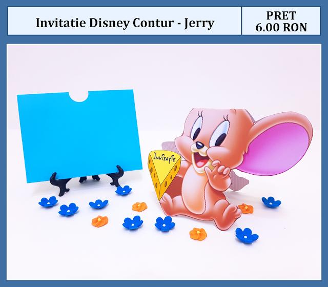 invitatii botez contur Jerry
