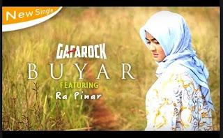 Lirik Lagu Buyar - Gafarock