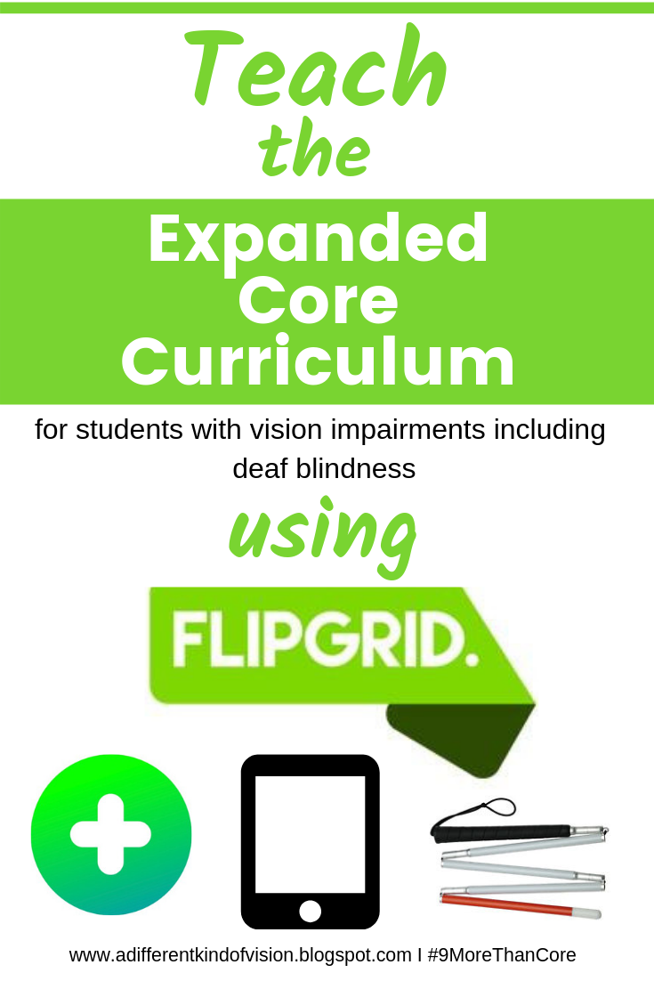 Image graphic that says Teach the ECC using Flipgrid