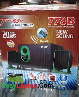 Speaker Teckyo 778B (remote + usb, bluetooth, Cardreader)