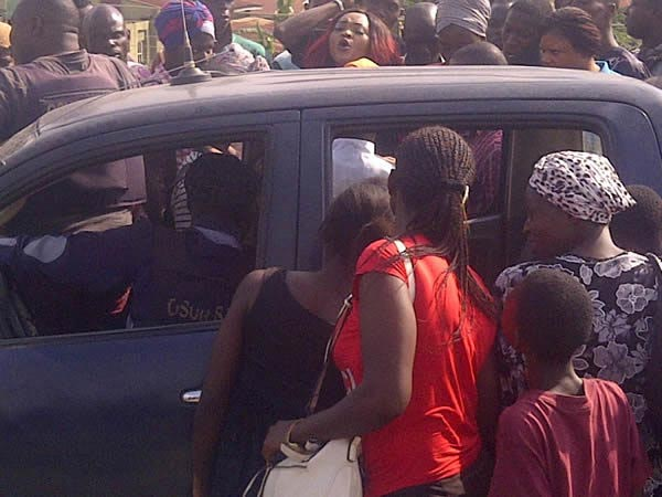 Photo: Actress Mercy Aigbe Arrested By Police In Oshogbo, Osun State