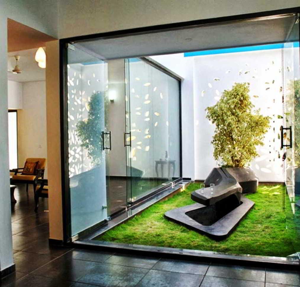 Desain Taman Minimalis Indoor