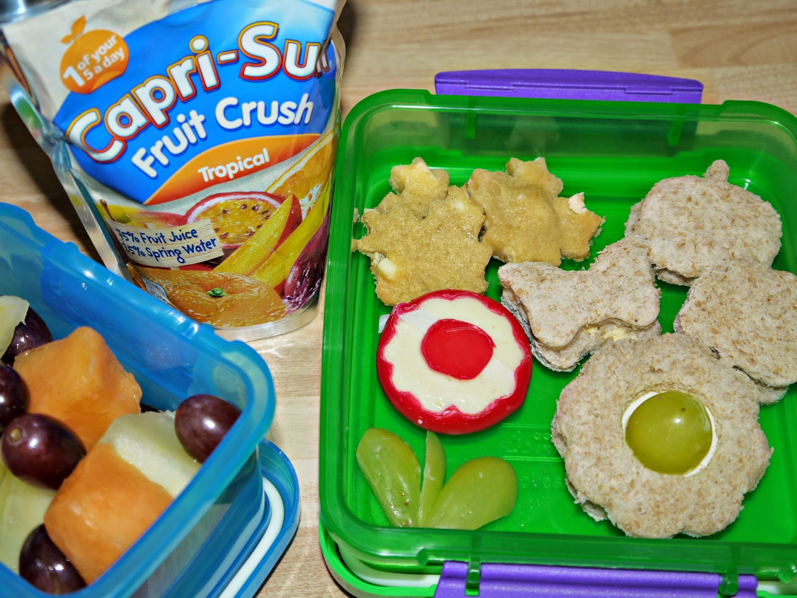 lunch box ideas, Capri-Sun