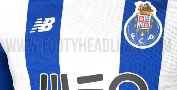 b78d67de670 Nous pouvons partager dès aujourd hui un aperçu exclusif du nouveau maillot  du FC Porto domicile 2017 2018