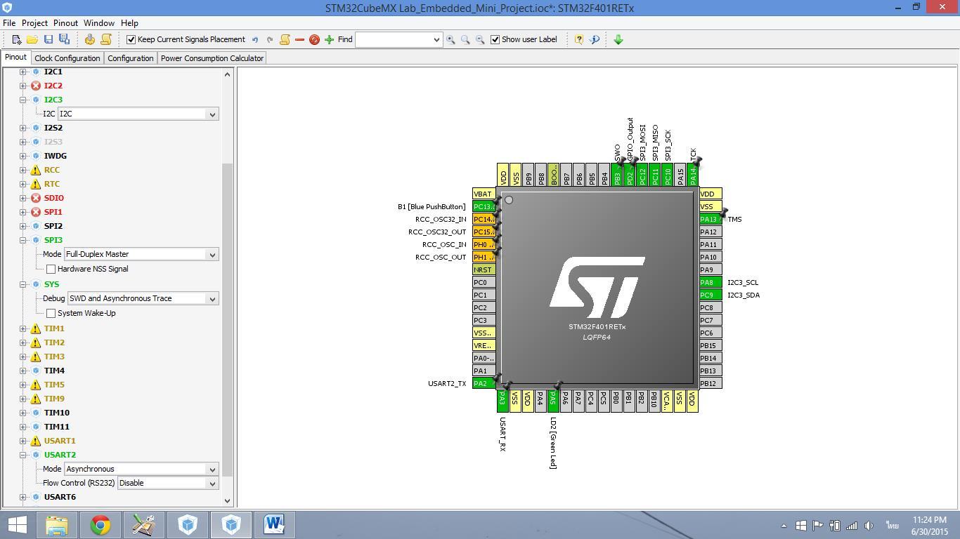 STM32 Nucleo Embedded System Design Lab@KMUTNB: 2015