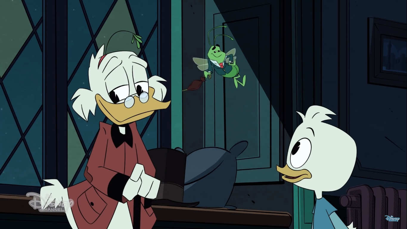 Scrooge Mcduck Christmas.First Look David Tennant S Scrooge Mcduck Takes To Time