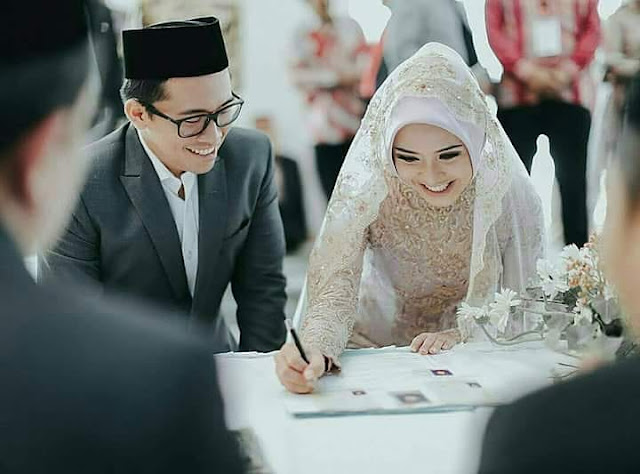 acara akad pernikahan