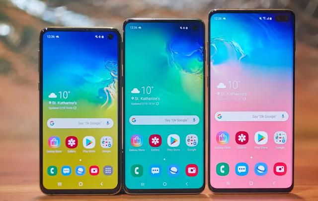 Samsung Galaxy S10 reguler, S10+, dan S10e Resmi Di Luncurkan