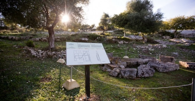 The Park of Orik transformed into an archaeological and natural park